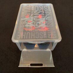 10 stk Drop Front Footy Sko Box