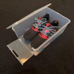 Drop Front Footy Sko Box