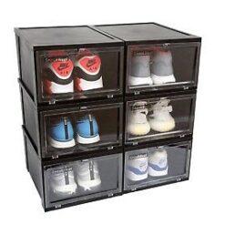 Sneaker Head Drop Front Black Sneaker Bokse