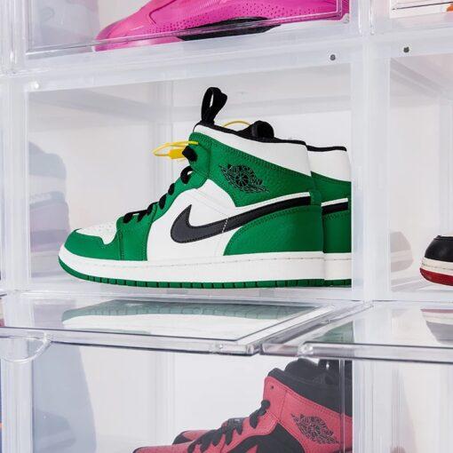 10 stk Sneaker MAGNETIC Drop Front Shoe box