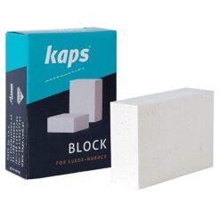 Vores KAPS Ruskind & Nubuck block er det perfekte redskab til rengøring af sko med ruskind og nubuck materiale