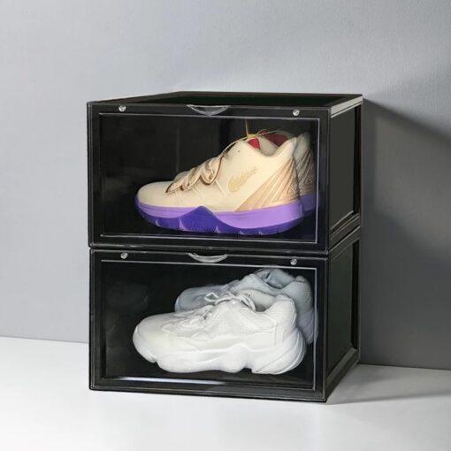 Sneaker MAGNETIC Black Drop Side Shoe box
